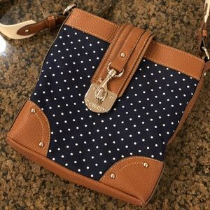 Polka Dot Crossbody Bag